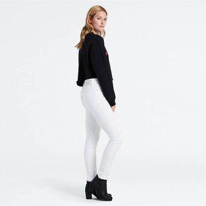 Levi's Women's 721 Skinny Jeans, Western White